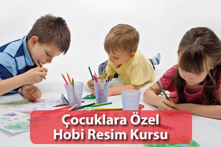 Çocuklara Özel Hobi Resim Kursu