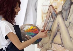 Arkhe Sanat Hobi Atölye Gençlere Özel Resim Atölyesi