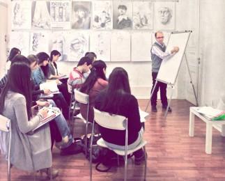 arkhe-sanat kurs fotoğrafları-ygs dersi-2011-2