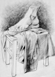 arkhe sanat-natürmort çizimi-2007