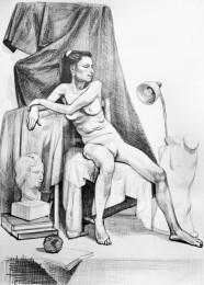 arkhe sanat figür anatomi çizimi