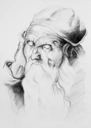 arkhe sanat karakalem kopya çizimi-2