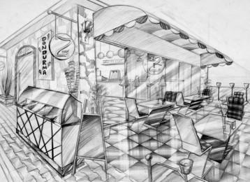 arkhe sanat iç mimarlık bölümü sınav sorusu kafe-2