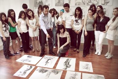 arkhe sanat-kurs fotoğrafları-yetenek sınavlarına hazırlık çalışmaları-2