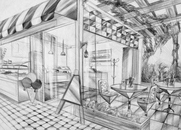 arkhe sanat iç mimarlık bölümü sınav sorusu kafe