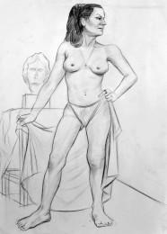 arkhe sanat nu model çizimi 4