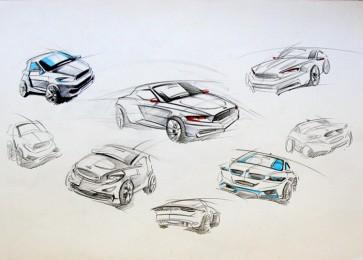 arkhe sanat araba tasırımı