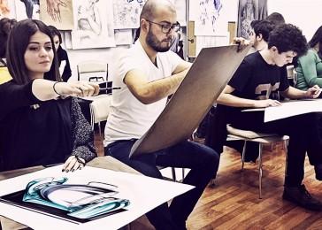 arkhe sanat öğrenci çalışması 2015