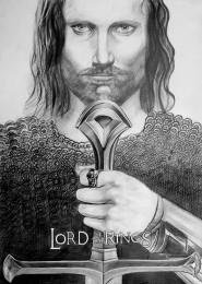 arkhe sanat illüstrasyon lord of the rings
