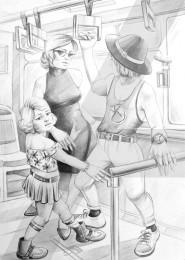 arkhe sanat imgesel karakalem çizimi