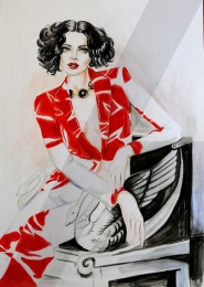 arkhe sanat moda tasarımı bölümü marker boyama