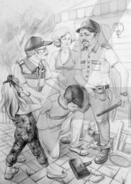 arkhe sanat karakalem çizim yetenek sınavlarına hazırlık resim kursu desen