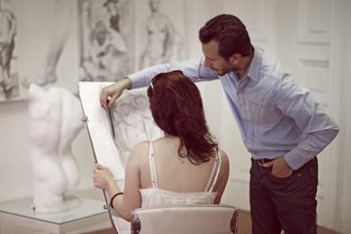 arkhe sanat-kurs fotoğrafları-model ile öğrenciler-6