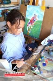 arkhesanat-resimkursu-güzelsanatlarahazırlıkkursu-resimdersi-çizimkursu-hobiresimkursu-hobi-yağlıboyaresim-karakalem-renkliboyama