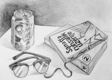 arkhe sanat grafik bölümü ürün illüstrasyon çizimi-kitap