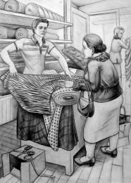 arkhe sanat imgesel çizimi-mimar sinan moda tasarımı sınav sorusu-2