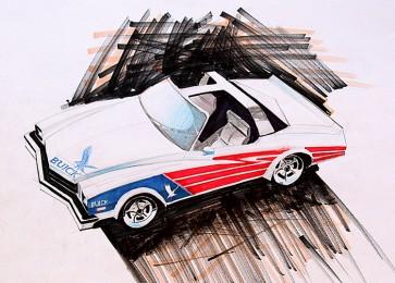 arkhe sanat illüstrasyon araba çizimi