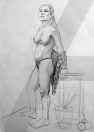 arkhe sanat model anatomi çizimi