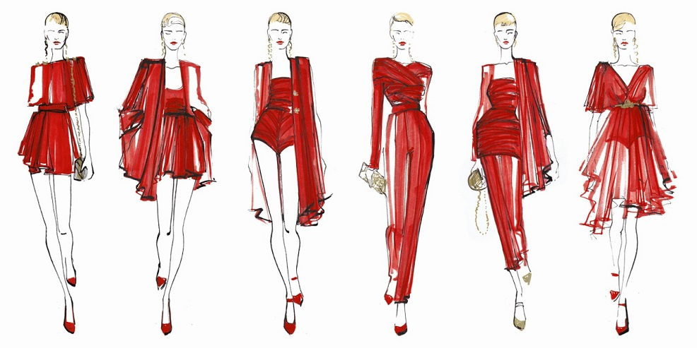 fashion-illustration-red-ideas