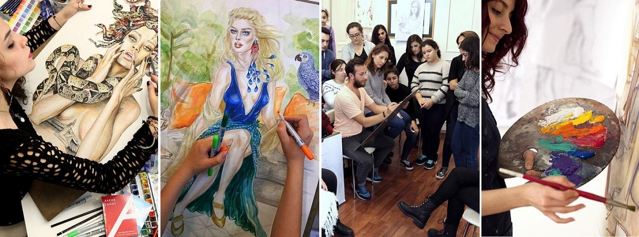 sanat eğitimi, sanat atölyeleri