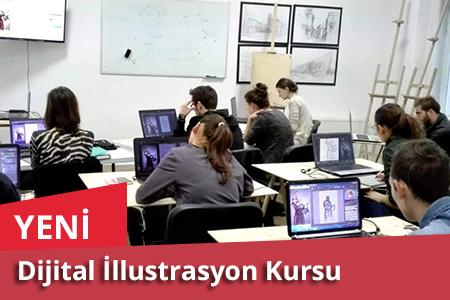 dijital illustrasyon kurs